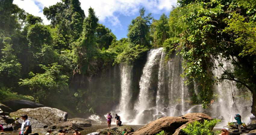 Phnom Kulen Waterfall Excursion 1Day